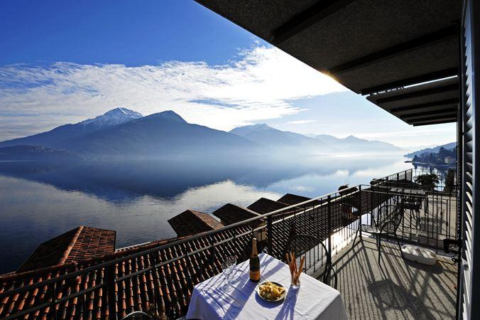 Isola Bella - panoramic views from the balcony