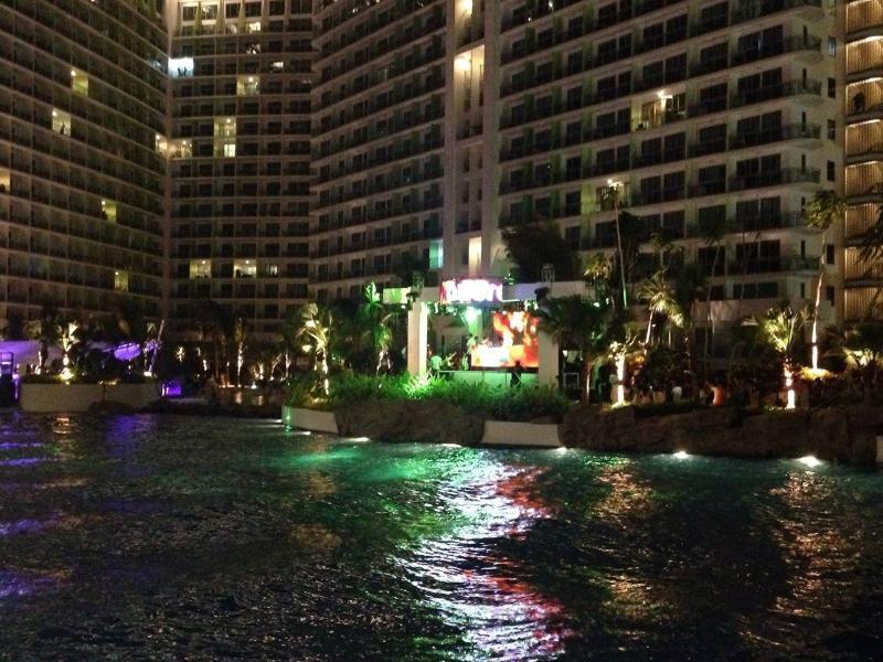 Night Lights over Resort