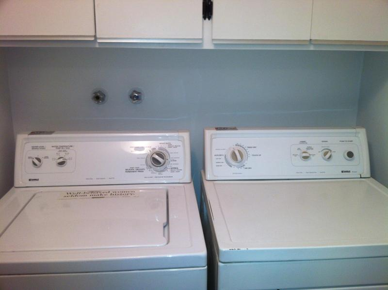 WASHER AND DRYER (BATHROOM)