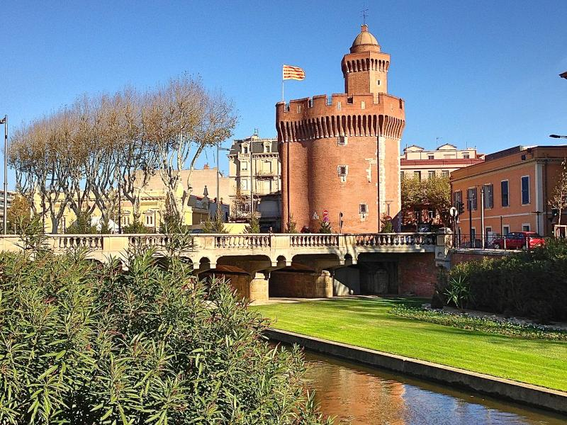 the Castillet is an easy walk away from your apartment