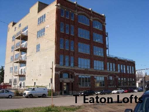 loft located in this historic T Eaton Building