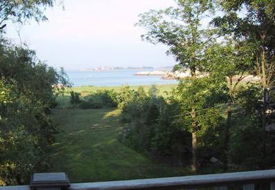 Vista di Sandy Cove