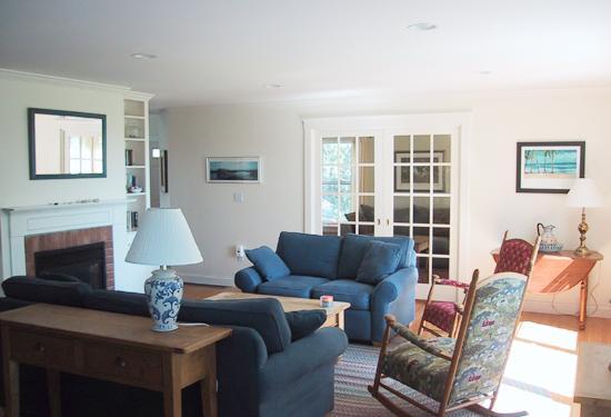 Zona - salotto - tv sala da pranzo può essere separata con porte francesi tasca