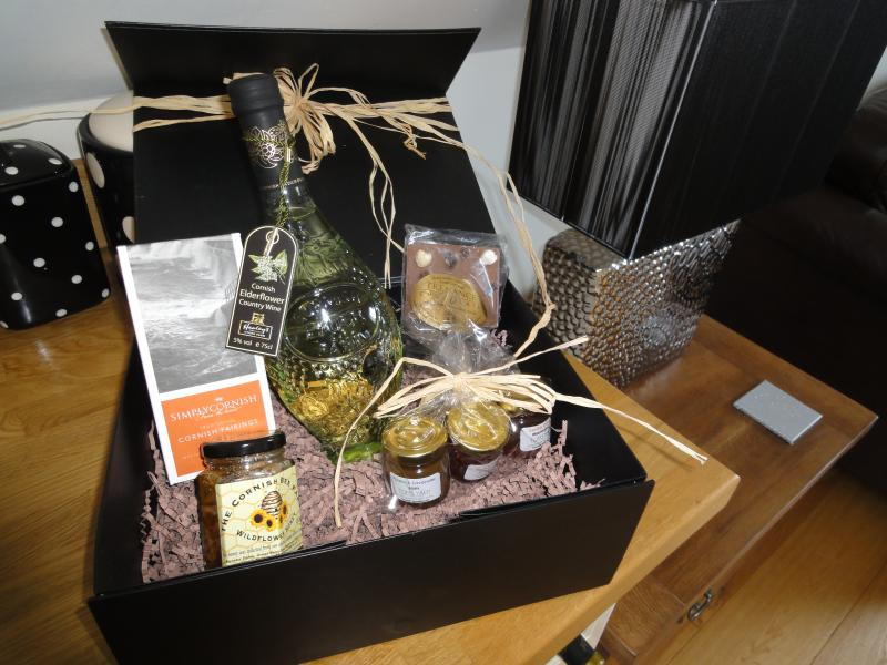 enjoy your cornish welcome pack