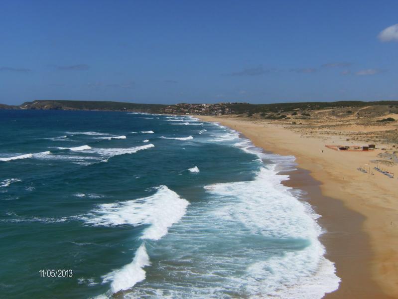 The beach - panorama-