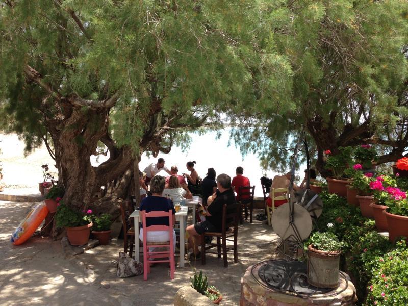 Taverna at Diaskari Beach