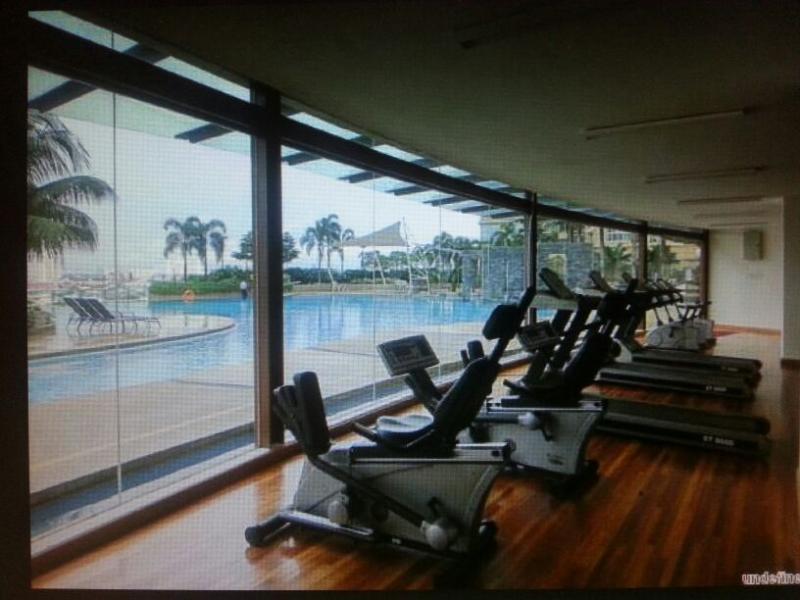 Salle de gym privée et Sauna