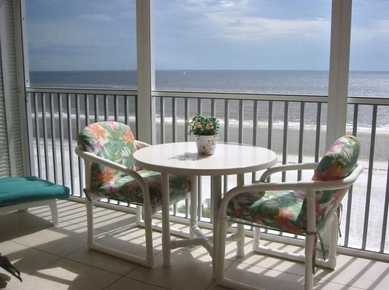 Watch the dolphins and beautiful sunsets from your balcony