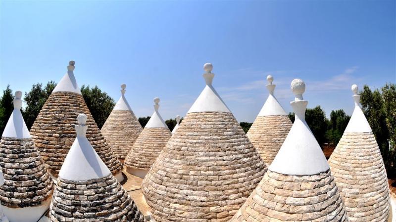 Magnificent architecture unique to Puglia region