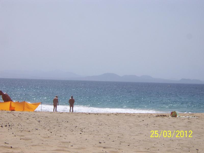 Fuerteventura in the distance
