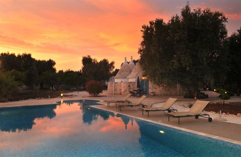 Beautiful evenings at Trulli Porta Blu