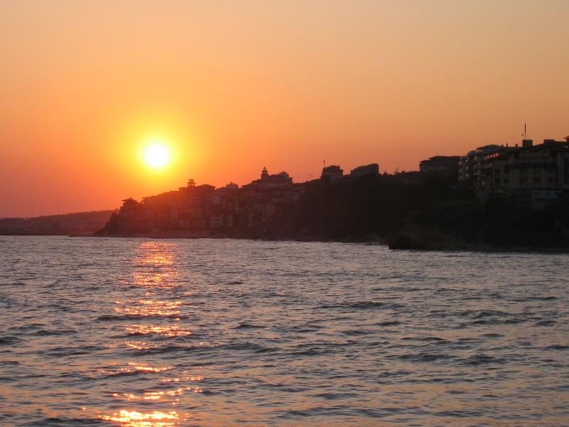 Sunset over St.Vlas