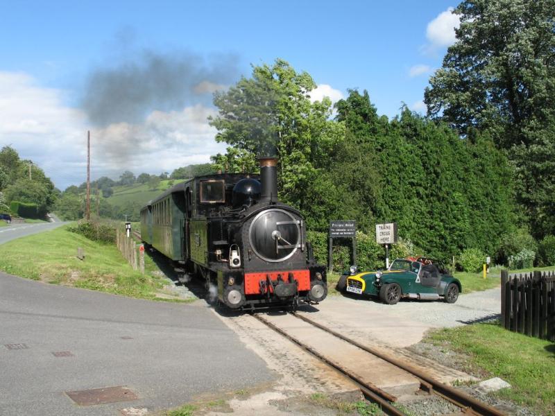 The Llanfair to Welshpool Railway