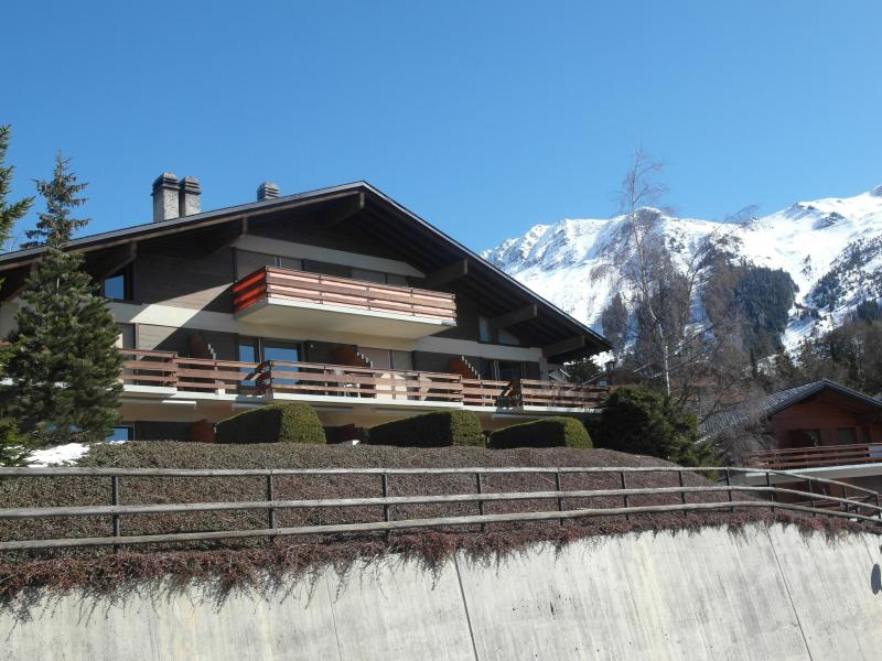 Charming apartment, stunning mountain view on the Grand Combin, 5 min walk from the ski slopes