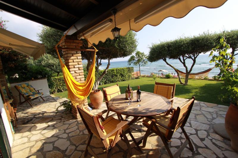 veranda with nice sea view