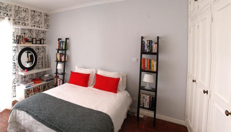Main bedroom with King size and lots of closet space