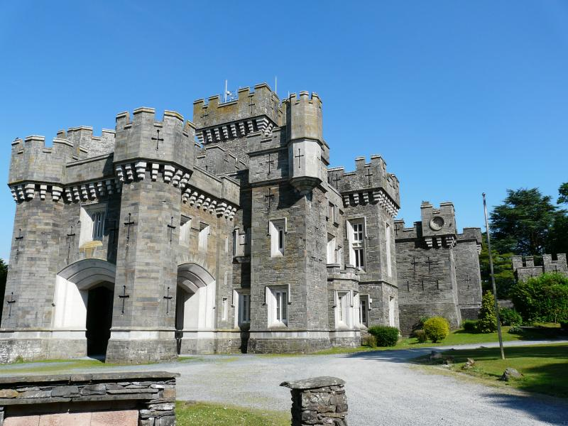 Wray Castle  is located close by