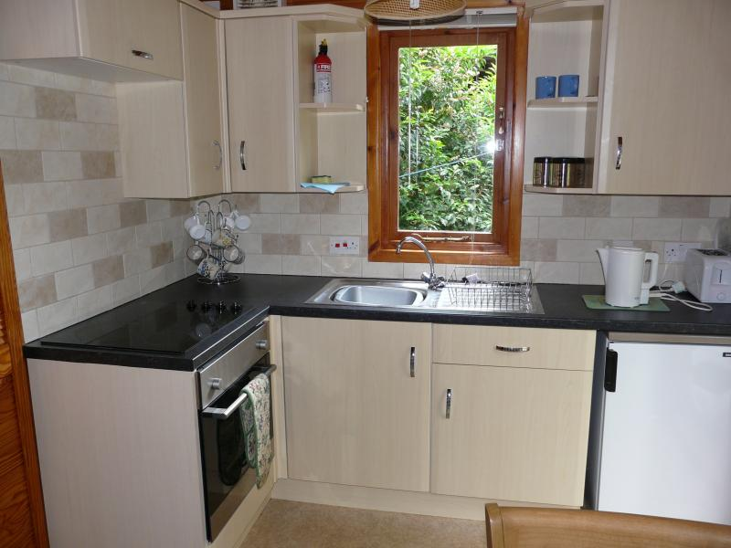 Whinfell Tars fitted Kitchen includes Fan Oven, Ceramic Hob, Fridge, Freezer, Toaster etc