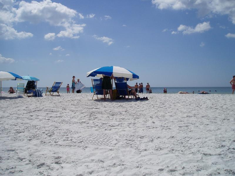A lovely day out at Clearwater Beach - approximately 90 minutes drive