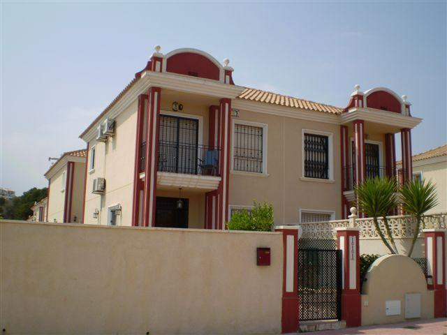 Front of the Villa