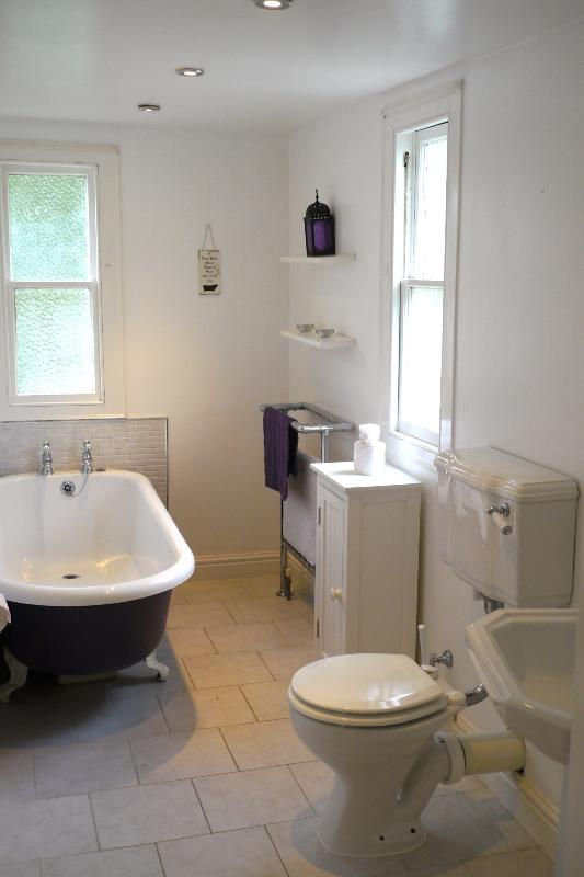 Gorgeous Family Bathroom - With Claw-foot bath