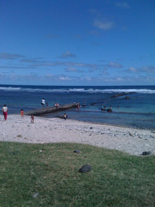 plage de l'hermitage (lagon) 10 minutes a pieds de la location
