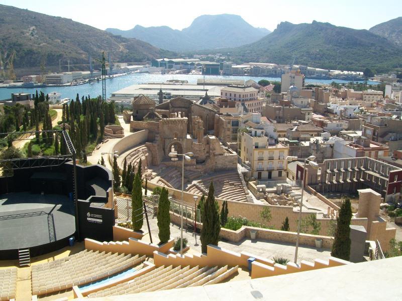 Nearby historic city of Cartagena