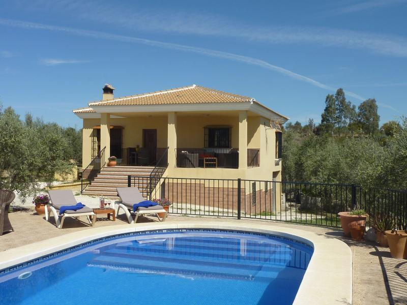 Prachtig vakantiehuis met privé zwembad in de buurt van Málaga