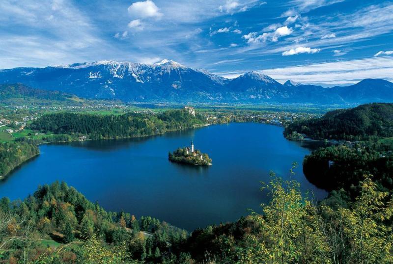 Lago Bled é apenas a 22 km de nossos apartamentos