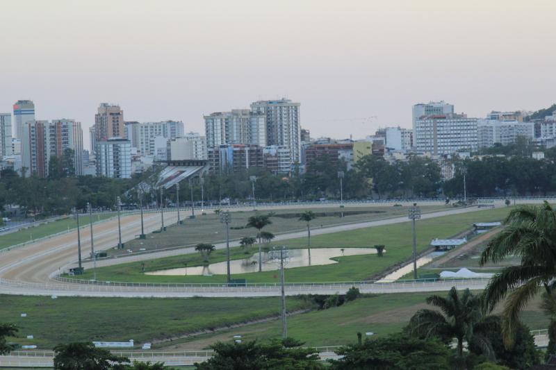 view of the Jockey Club