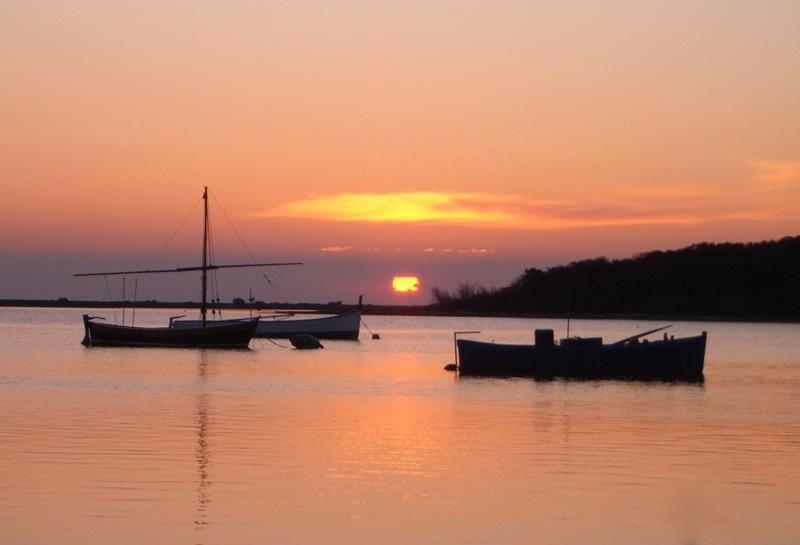 Santa Cesareo al tramonto
