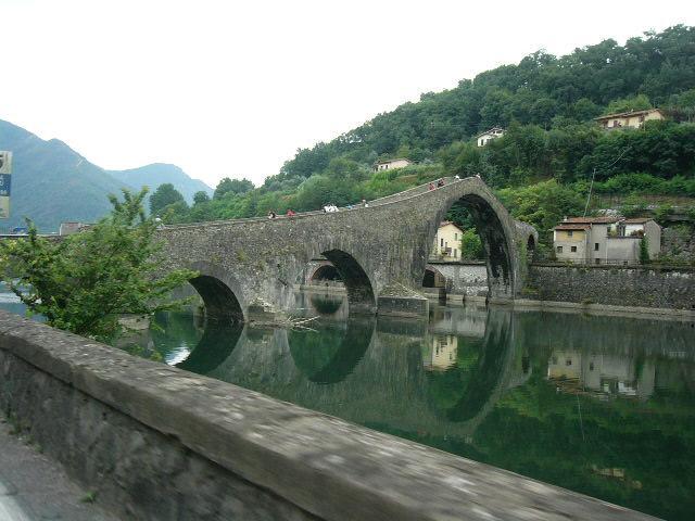 The 'Bridge of Mary Magdalene' or 'Bridge of the Devil'