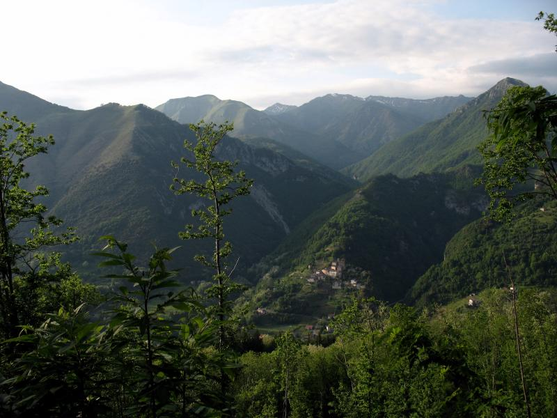 Spectacular panoramic view from Cocciglia
