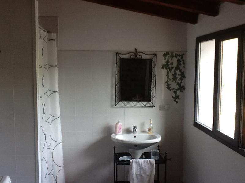 the bathroom on thr first floor