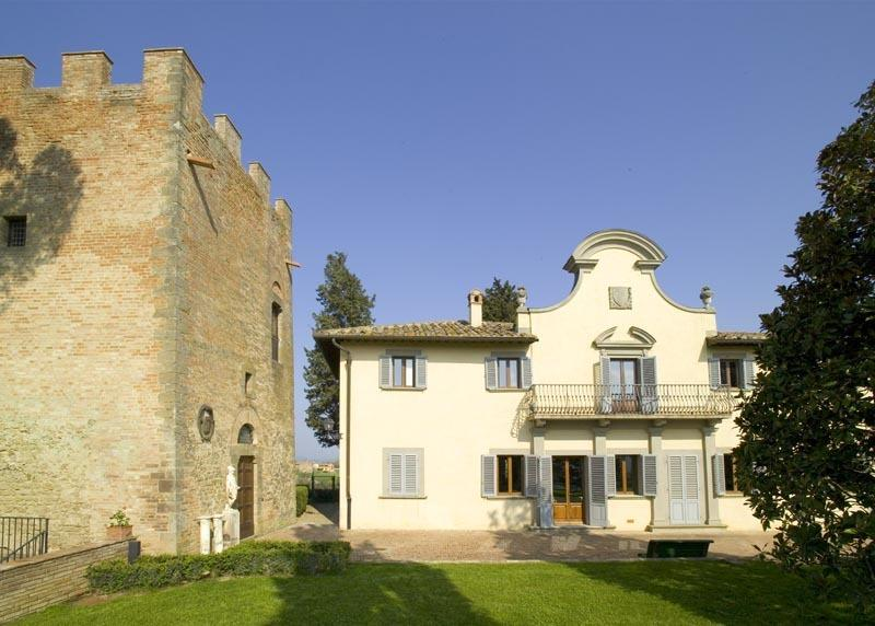Villa and XII Tower