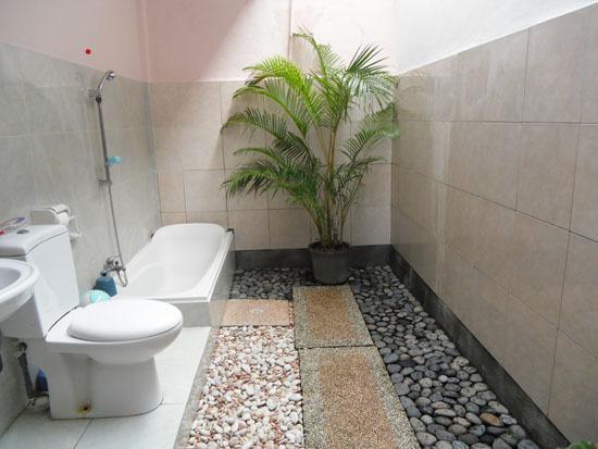 out door bath room