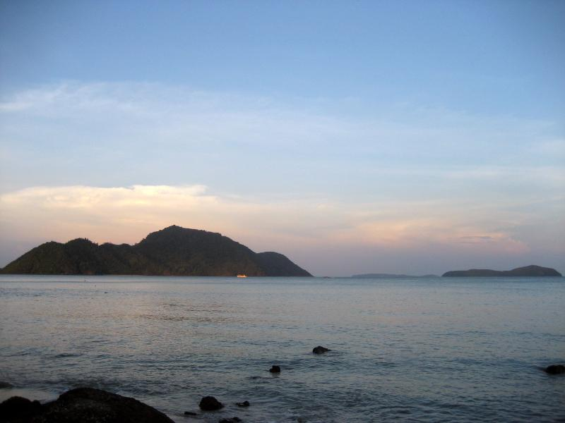 2 Of The 8 Islands On View From The Secluded Laem Kha Beach