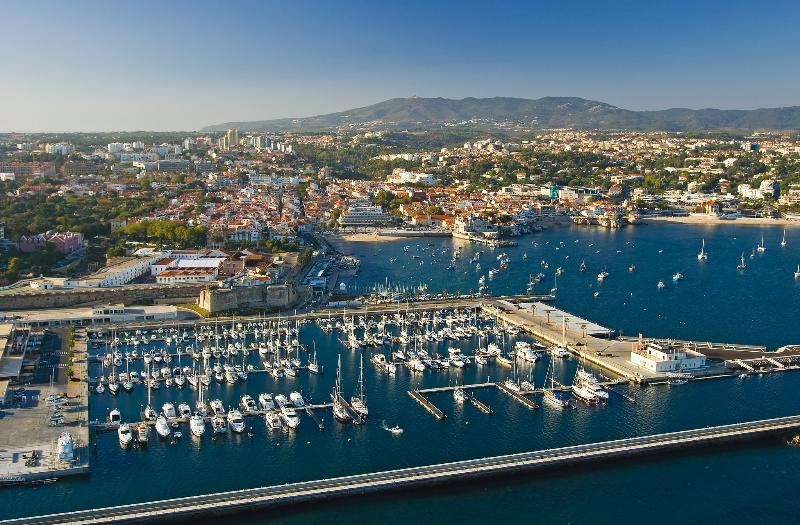 Amazing Cascais !  View of the bay and the marina