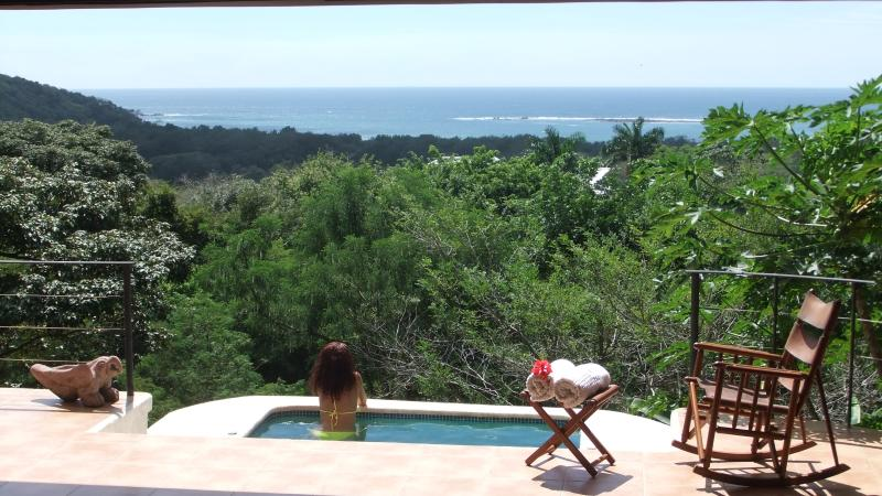 panoramic oceanview from the cool dip whirlpool