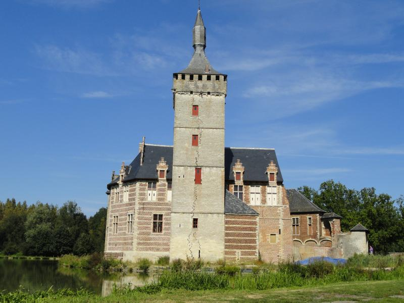 The Horst water castle: a 10 kilometer fantastic bike ride through the Hageland