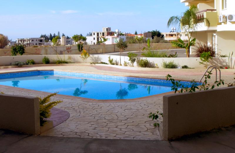 One of the four pools at Artemis Cynthia Complex