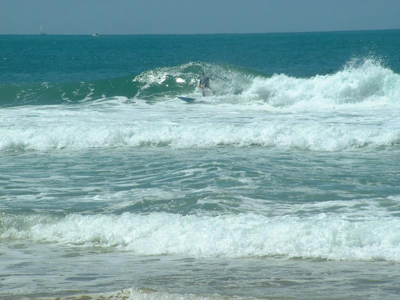 Beach Villa Caicara Jemma owner surfing La Piste ( few minutes from house )