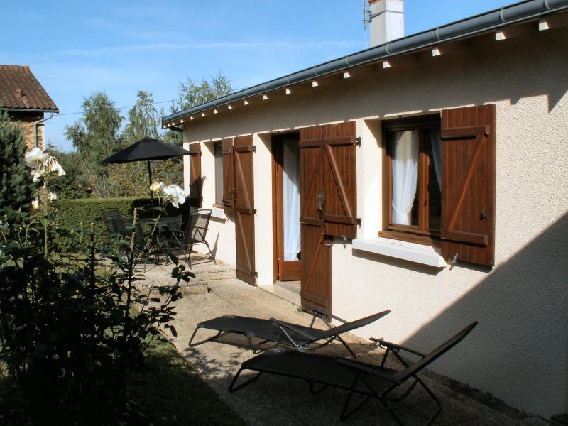South facing rear garden and patio