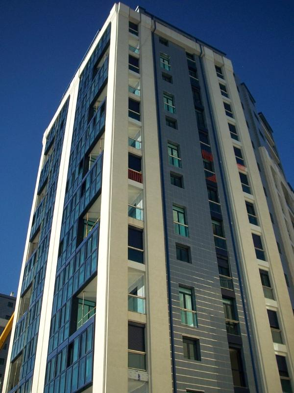 Modern luxury residential development