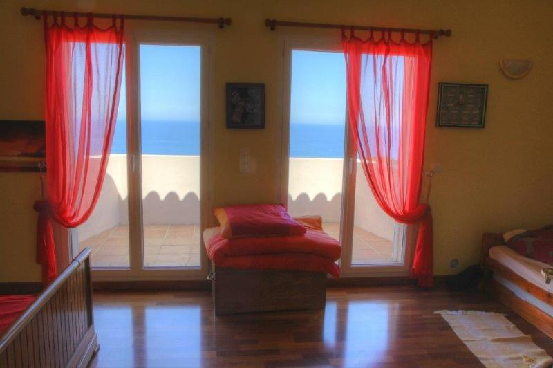 All rooms have seaview