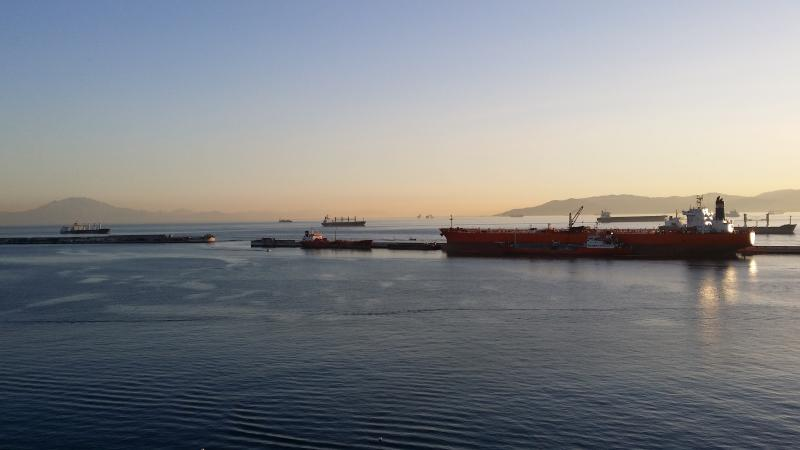 The Port of Gibraltar, in your front window