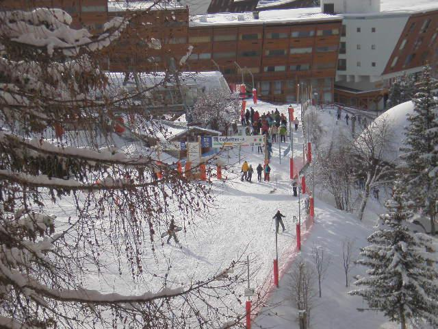 Lifts Viewed From The Apartment