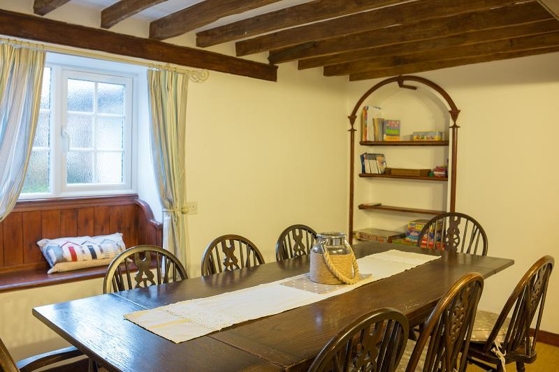 Oak Beamed Dining Room