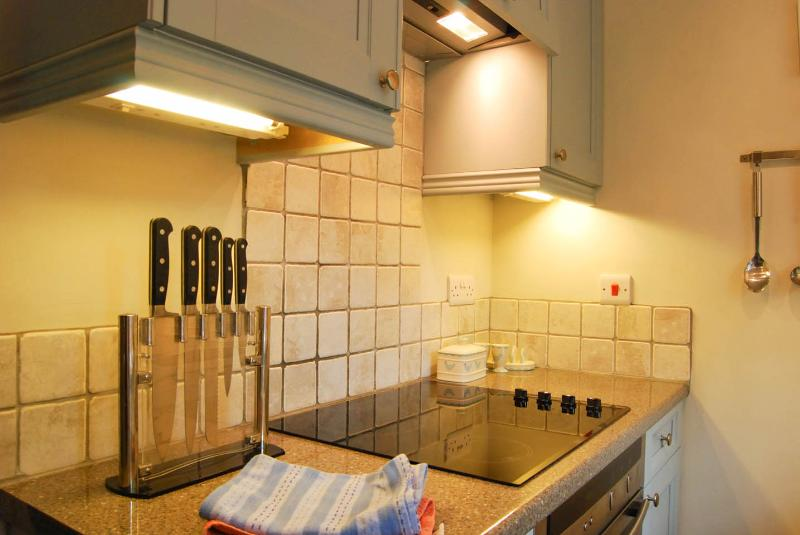 Well equipped kitchen, so you can relax and leave the kitchen sink at home