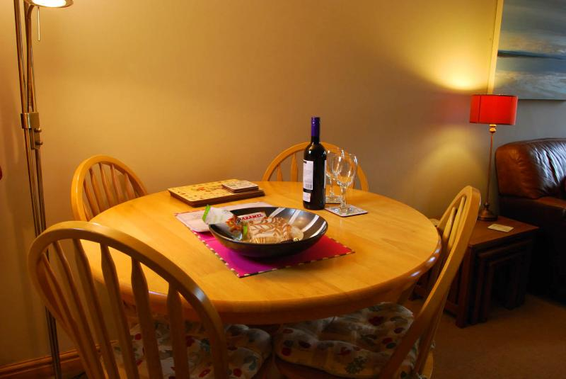 Wine and treats to welcome you on arrival